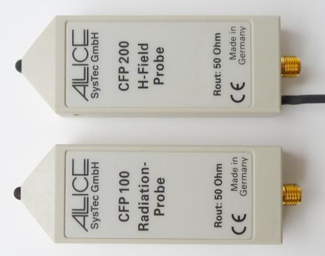HZ552 H-Feld-Sonde & HZ556 Einstrahlsonde